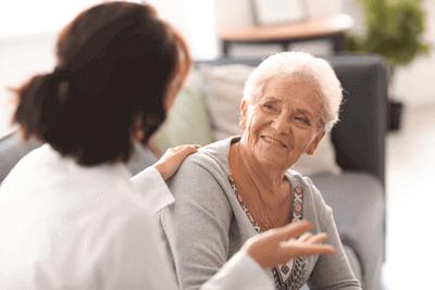 Senioren wird beraten